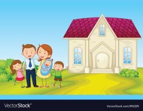 cartoon-family-house-vector-991205